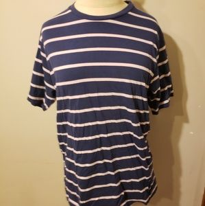 Paperdenim and cloth men size medium striped tee